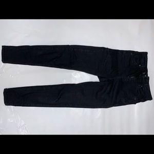 Black Topshop Moto Jamie Jeans